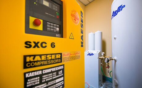 Kaeser compressor at RSPCA Burwood East