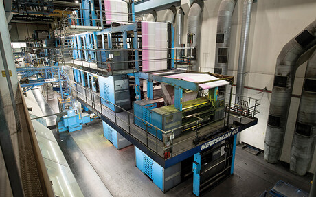 The printing presses at News Corp Australia's Adelaide print centre