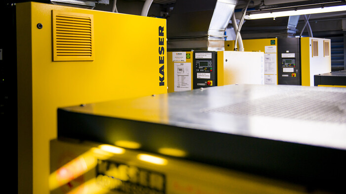 Kaeser rotary screw compressors at Liebherr Australia