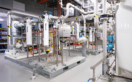 Kaeser compressors at Victorian Desalination Plant
