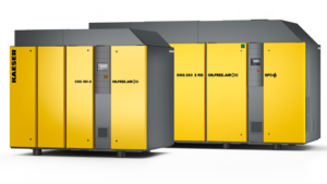 CSG-2 and DSG-2 air-cooled oil-free compression rotary screw compressors from Kaeser Compressors