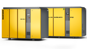 CSG-2 and DSG-2 water-cooled oil-free compression rotary screw compressors